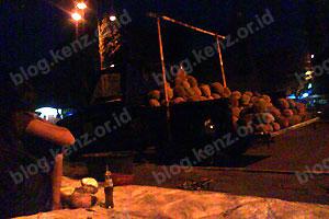 Penjual Durian Kotabaru Jogjakarta