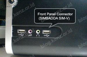 Front Panel Simbadda Sim-V