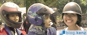 Tiga Jenis Helm Pengendara Sepeda Motor