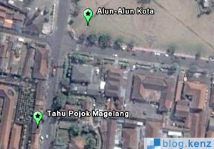 Lokasi Warung Tahu Pojok Magelang