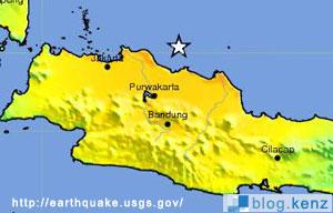 Gempa Bumi 7.5 SR Di Laut Jawa