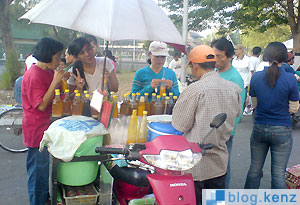 Penjual Jamu Sunday Market Solo