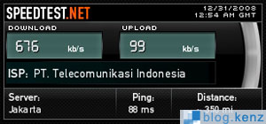 Speed Test Telkom Speedy Rumah